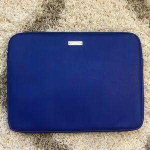 Kate Spade Blue Laptop Case